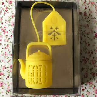 GOD 住好啲 茶隔 Tea Infuser 黃色
