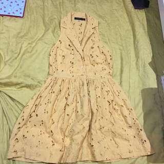 Yellow Topshop Dress
