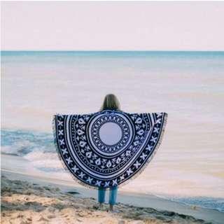 Beach Mat/ Beach Roundie/ Beach Towel