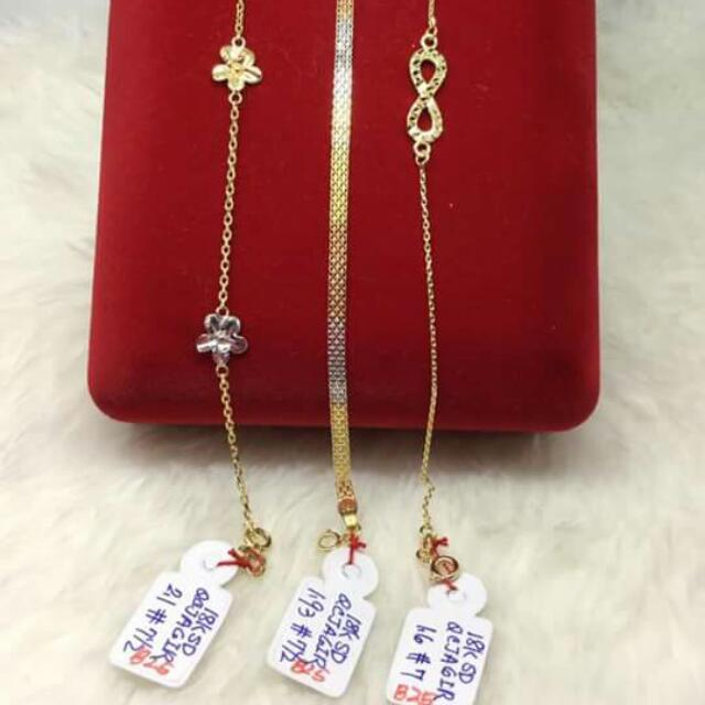 18k Saudi Gold Bracelet 100% Genuine Pawnable/nasasangla