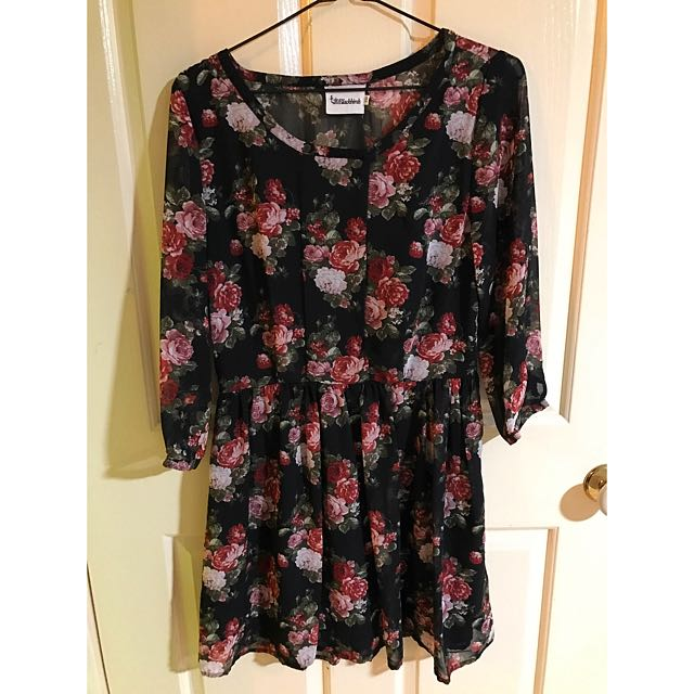 1 & 20 Blackbirds Floral Dress