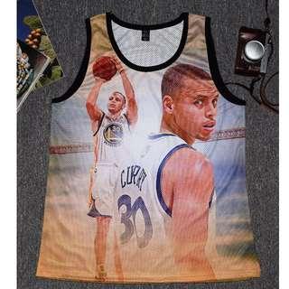 🚚 Curry sleeveless 🌟柯瑞🌟 球衣 勇士 🔥🔥NBA 🔥🔥無袖 籃球 籃球衣 背心 短T Basketball Tshirt Tee