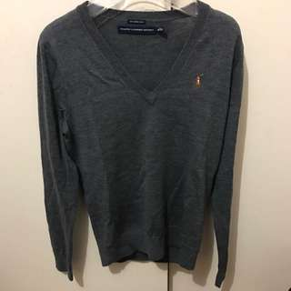 Ralph Lauren Grey Knit Sweater