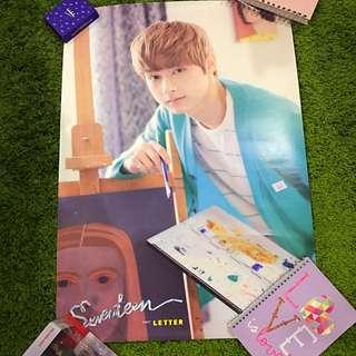 Seventeen Love Letter Jun Poster