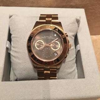 Marc Jacobs 玫瑰金手錶