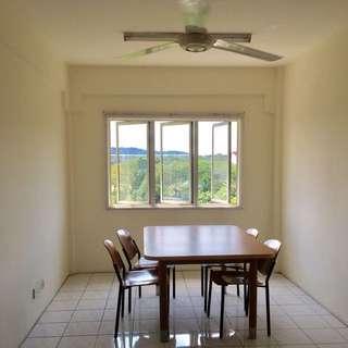 Kota Damansara 3 Rooms apartment, 2 Bathrooms furnished