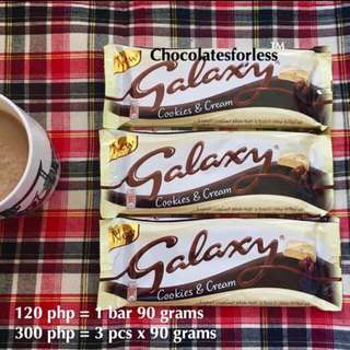 Cookies And Cream Galaxy Chocolate Imported