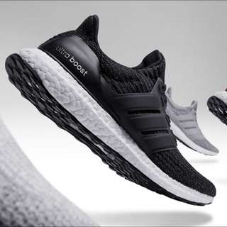 Selling Adidas Ultra Boost 3.0 Black
