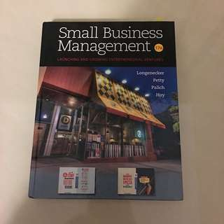 Small Business Management 17版