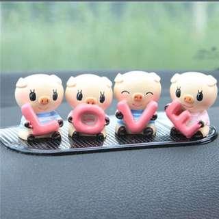 Pig Love Car Accessories