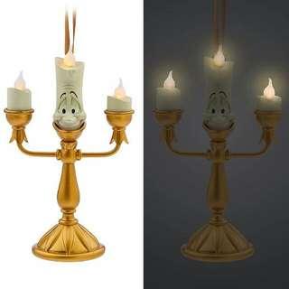 RARE LUMIERE CANDLE ORNAMENT