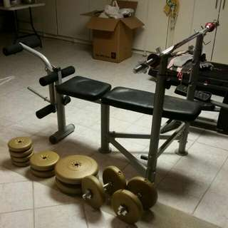Bench Press & Dumbells