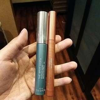Mascara Body Shop + Cream Crayon Loreal