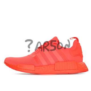 c31fc9777064e Adidas NMD R1 Triple Red Solar Red US 8  Lowest Price