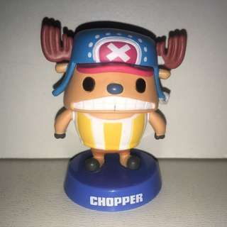 Authentic Japan Anime One Piece Figure Collection, Panson Work Product With Shaking Head, Chopper. - MAR004