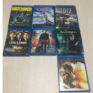 Original Imported Blu Ray sale