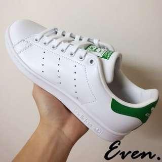 Adidas Stan Smith 綠尾