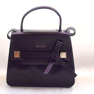 2017 Spring - Escada authentic leather bags with detachable shoulder strap