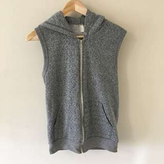 American Apparel Hoodie Vest