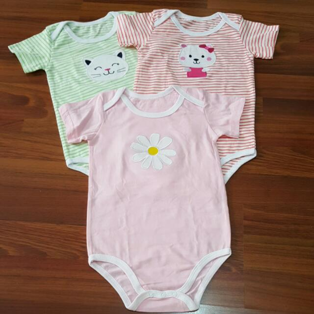 fa2c3c57bbd 27) Girl Baby Rompers 3pc Set (18-24 Month)