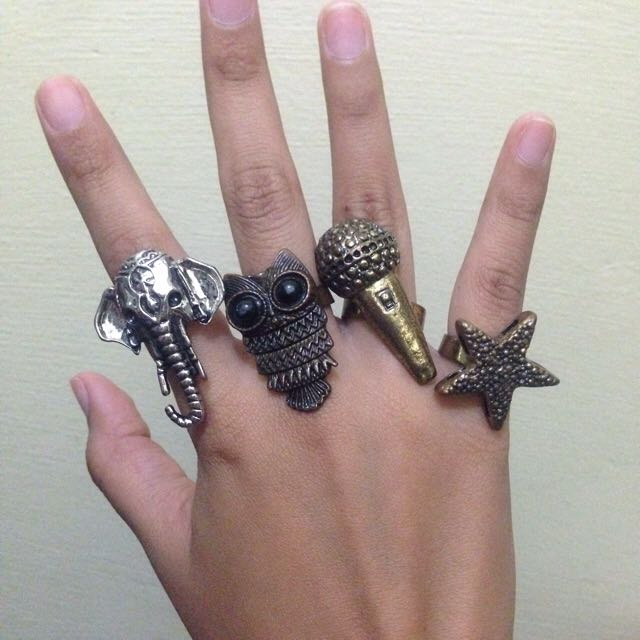 3 Rings For 100 Php