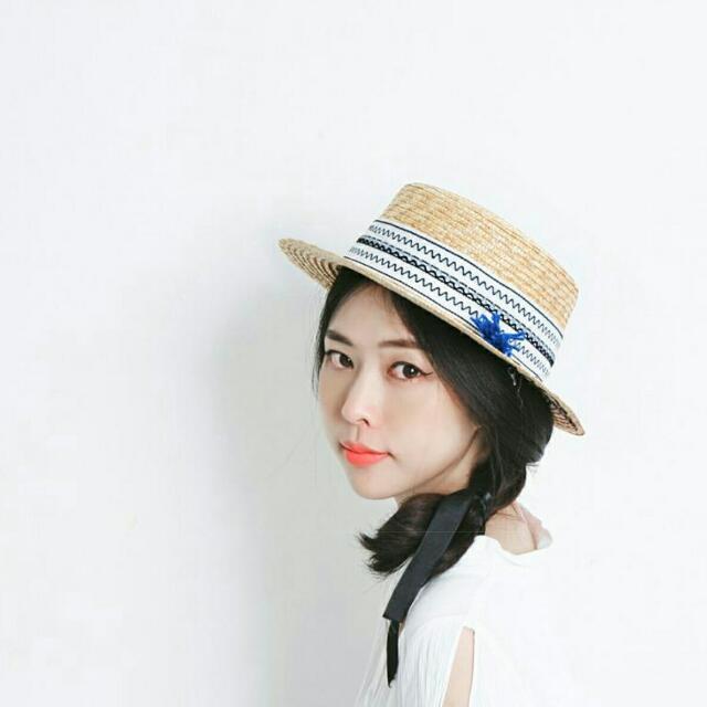 [現貨]👒☉🌴韓國製草帽