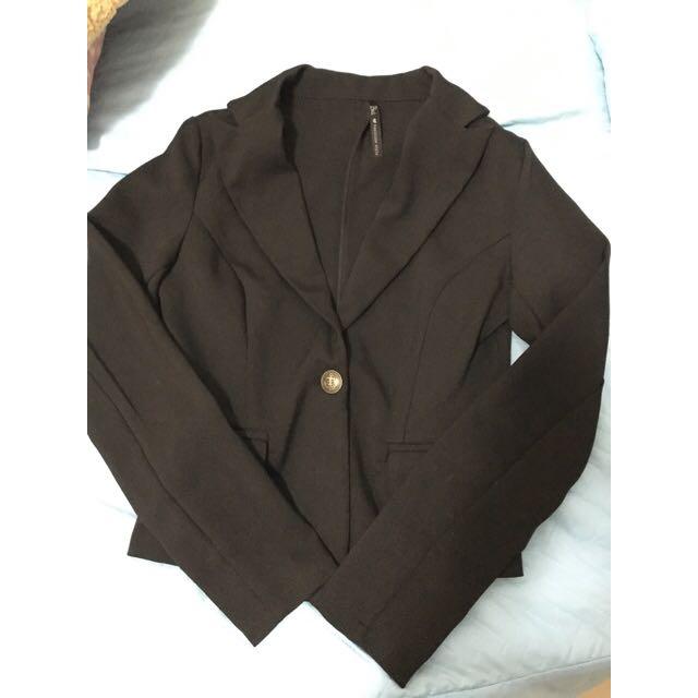 西裝外套 黑色