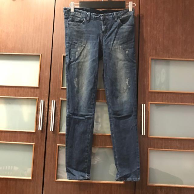 韓國 Ab牛仔褲 28腰 低腰