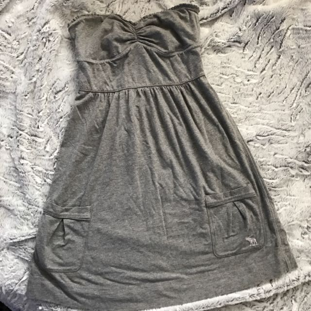 Abercrombie and Fitch Strapless Mini Dress- Size Small