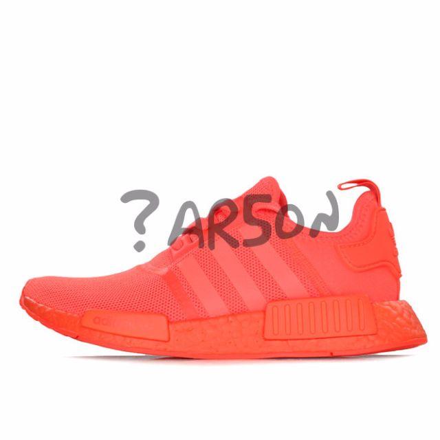 Adidas NMD R1 Triple Red Solar Red US 8  Lowest Price  9debc80fe934