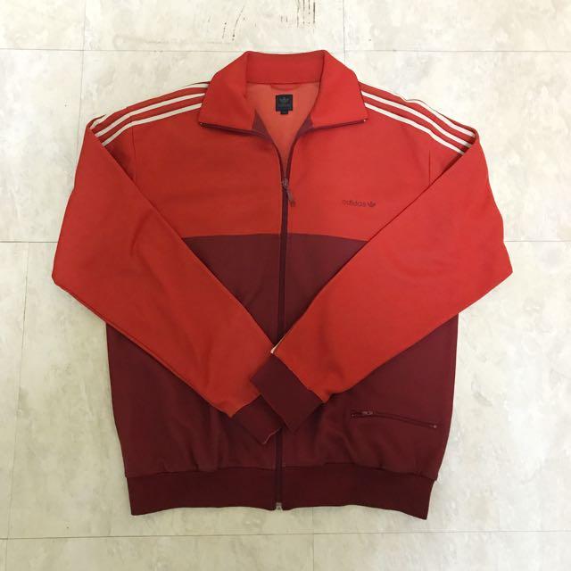Adidas Original 紅色復古夾克