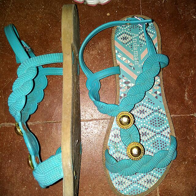 Andaman Jelly Sandals Size 6