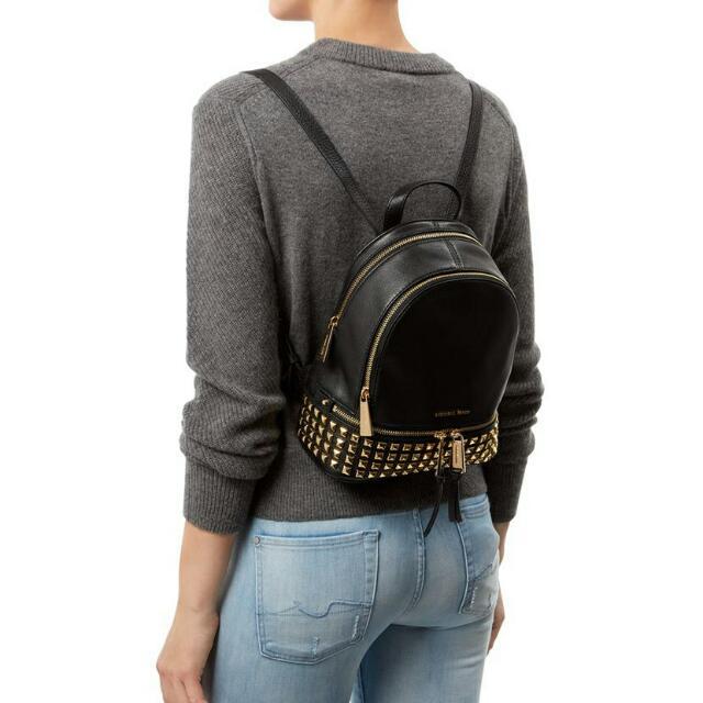 cf7932e9d0181 AUTHENTIC Michael Kors Mini Rhea backpack