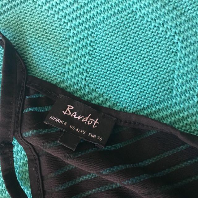 Bardot Bodysuit Top