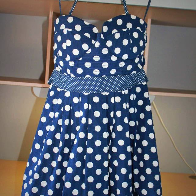Boohoo Polka Dot Dress