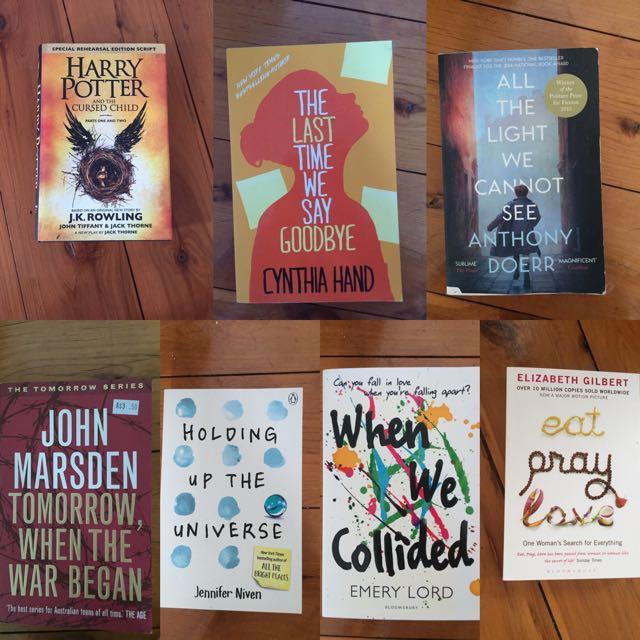 Books ($5 Each)