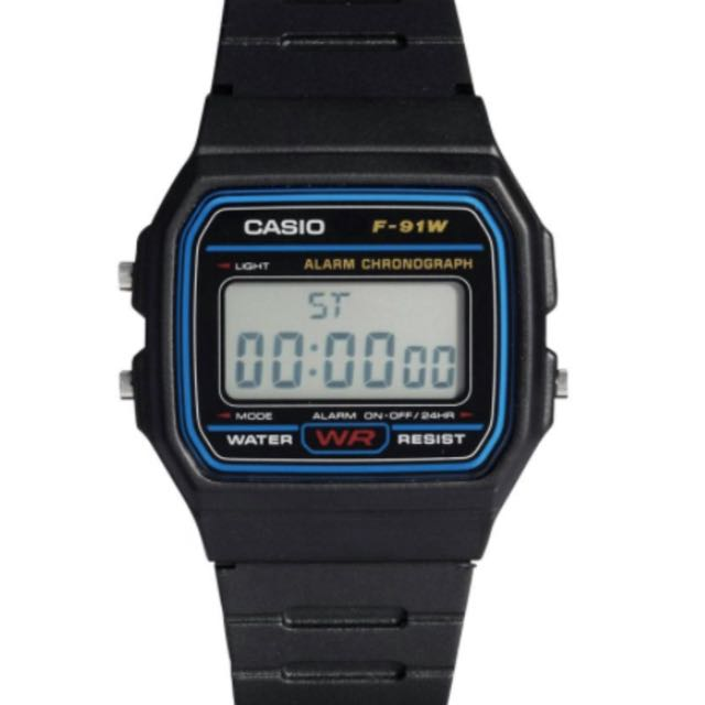 Casio Vintage Resin Digital