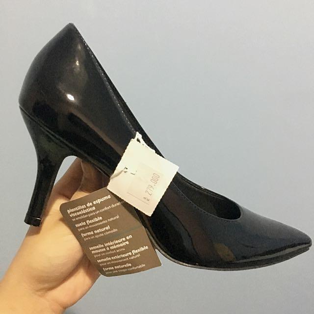 Comfort Plus | Pointy Black Heels Pump Shoes