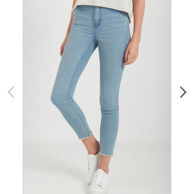 Cotton On 7/8 Skinny High Rise Jeans