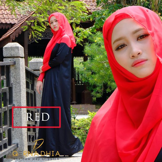 Duo Color Bf Pregnant Friendly Jubah