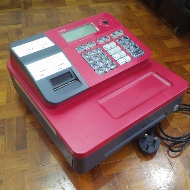 Electronic Cash Register Casio SE-G1