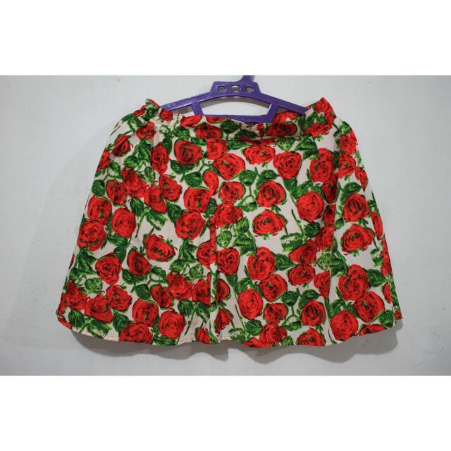 Floral Skirt C-006