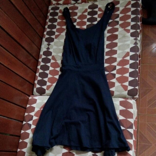 Forever 21 Dark Blue Dress