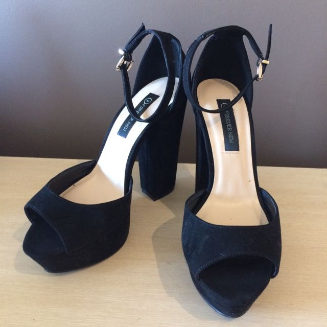Forever New Black High Heel