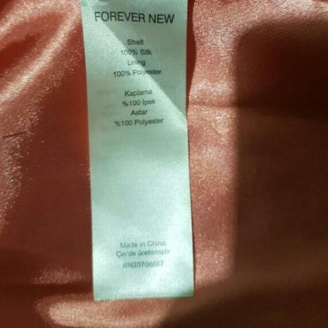 Forever New Dress Sz 10