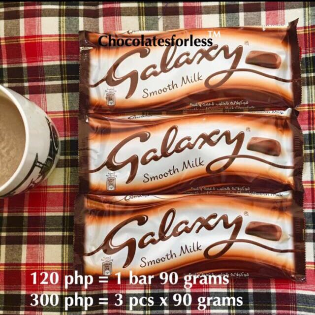 Galaxy Smooth Milk Chocolate Imported