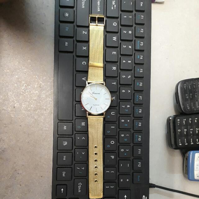 Geneva Watch (Gold)