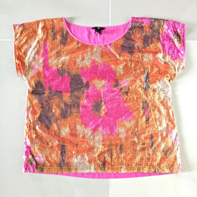 Glittery Top Med-Large