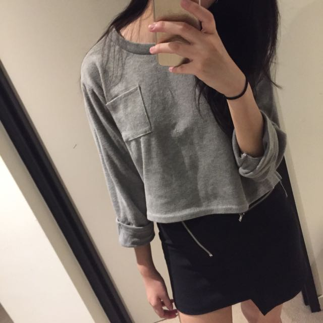 Grey Sweater
