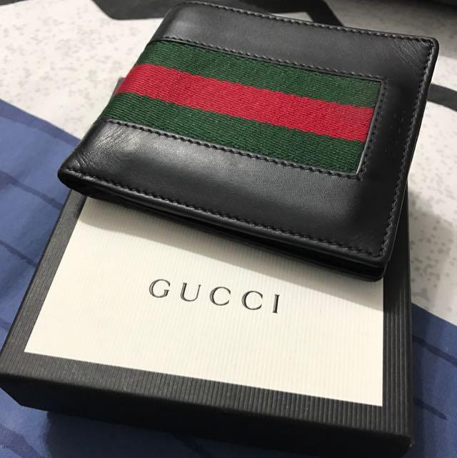 e63da1c3d24d Gucci Men's Wallet, Luxury, Bags & Wallets on Carousell
